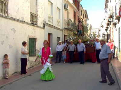 Subida a la Iglesia. S. Isidro 2005