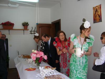 El desayuno. S. Isidro 2009