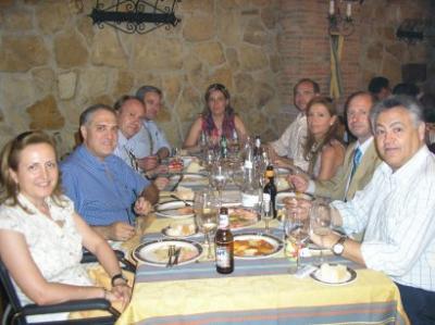 Comida con La Congregación 2006