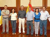 Visita de la Hermandad de S. Isidro de Lupión a la Orotava