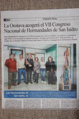 LA OROTAVA    VII ENCUENTRO DE HERMANDADES